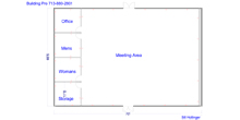 prefabricated medical clinic floor plan