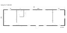 12 x 50 8x30 modular building floor plan