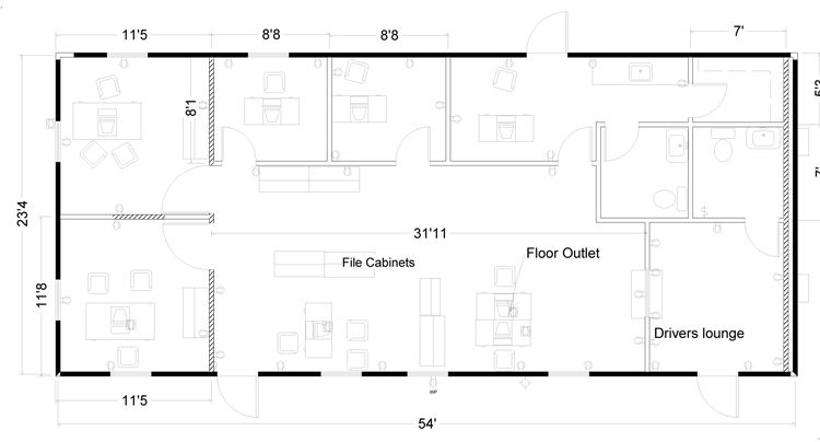 Small office floor plan room and a conference room 17 Office building floor plan layout
