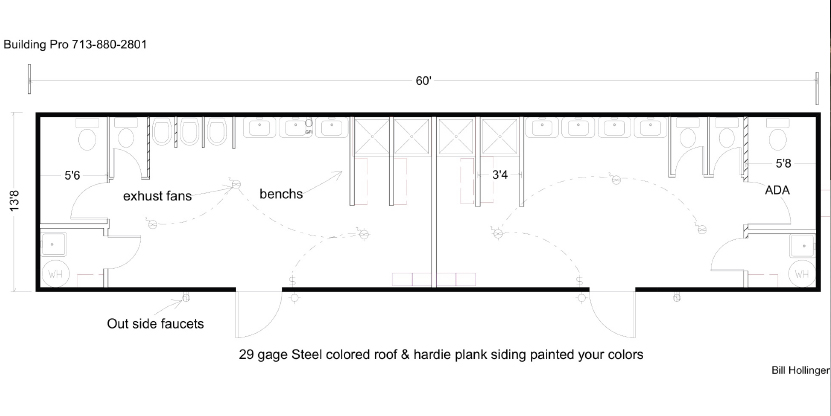 Floor Plans For Portable Modular Restrooms Amp Showers And